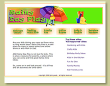 Thumbnail of Website for Childrens Craft and Playtime Ideas