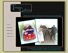 Thumbnail of Website Design for a Photographer